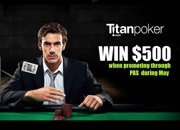 Titan Affiliate $500 Promo