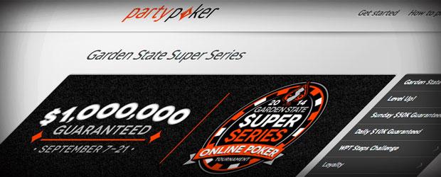 Party NJ online poker tournament series